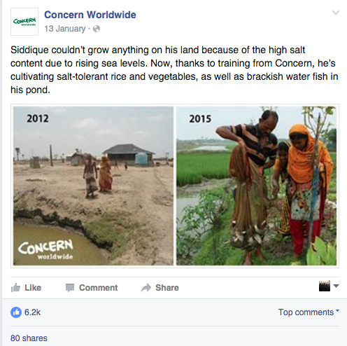 Turning Concern's Facebook Page Around