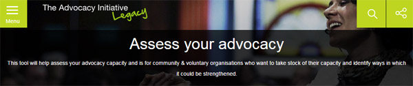 Assess Your Advocacy