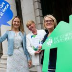 Minister Helen McEntee, Senator Colette Kelleher and Ms Helen Rochford-Brennan at the Campaign Launch in June 2016