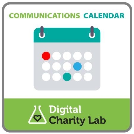 Template Communications Calendar Grid Digital Charity LabDigital - Communications calendar template