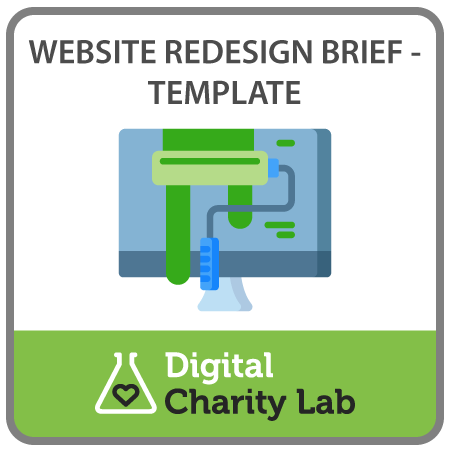 Free template - write a brief for your website redesign