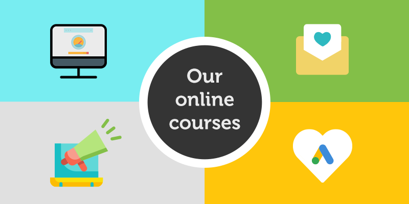 Digital Charity Lab's online courses for non-profits